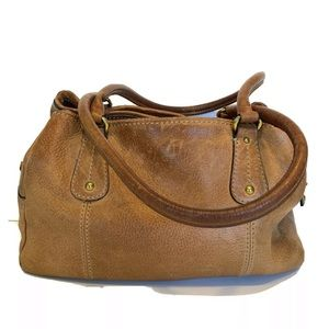 Fossil Womens Purse Shoulder Bag Brown Leather